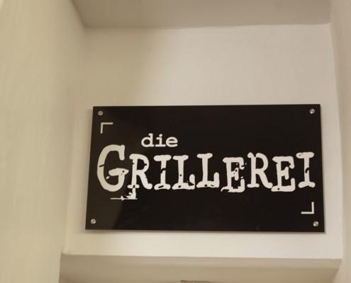 PFANDL Grillerei Schild