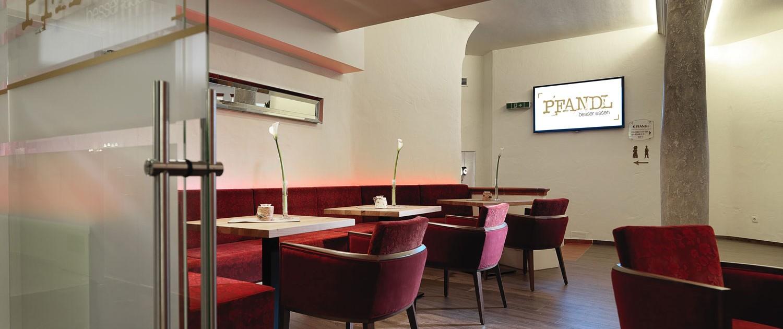 PFANDL Lounge im Restaurant PFANDL in Aigen-Schlägl