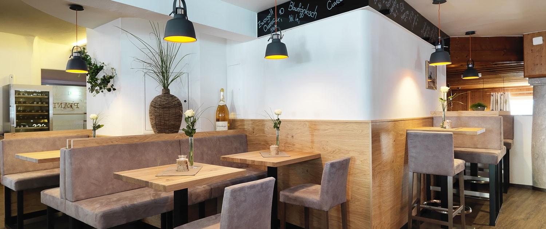 PFANDL Um die Bar im Restaurant PFANDL in Aigen-Schlägl