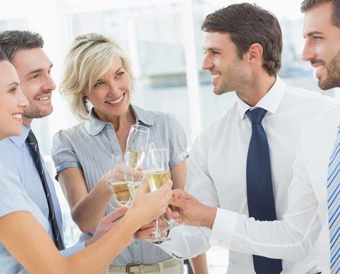 besser feiern im PFANDL auf der Firmenfeier